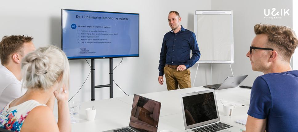 Marketing Workshop Website